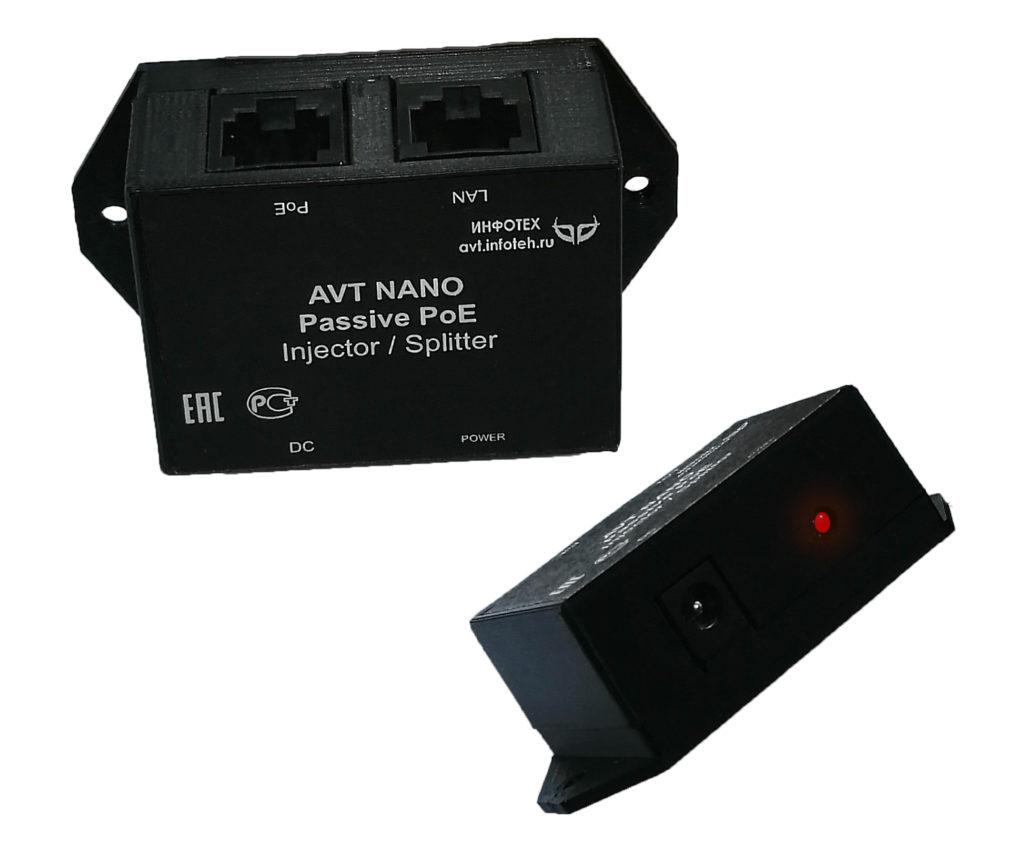 Пассивный инжектор PoE
