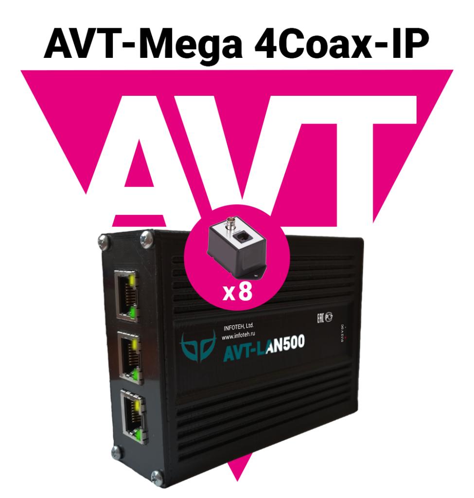 Новые комплекты для передачи IP видеосигналов по коаксиальному кабелю