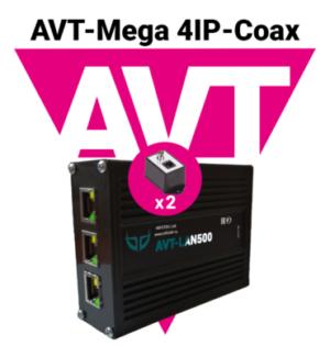 AVT-Mega 4IP-Coax
