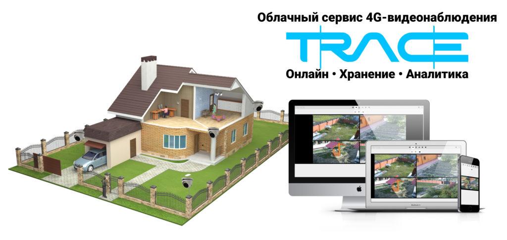 ИНФОТЕХ TRACE - Облачный сервис 4G-видеонаблюдения