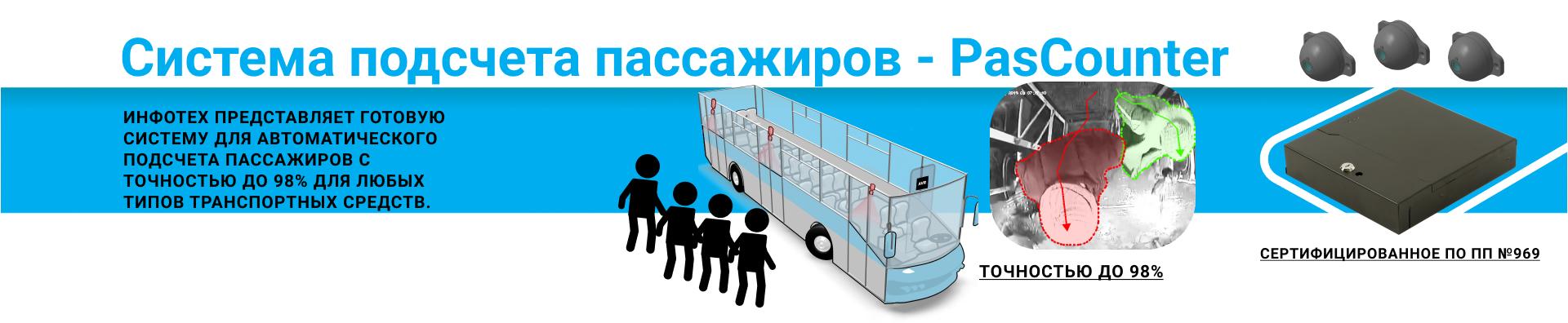 Система подсчета пассажиров на борту транспортного средства